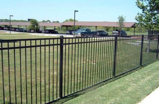 Belle Villa de clôtures en fer forgé pour jardin