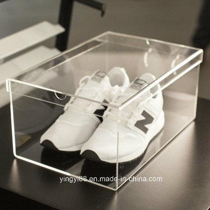 Chine Hot Sale Personnalises En Acrylique Transparent En Plexiglas Boite A Chaussures Acheter Boite A Chaussures Sur Fr Made In China Com