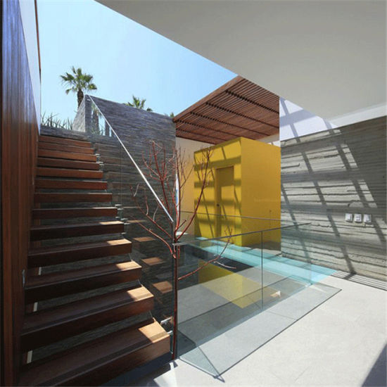 Chine L\'acier escalier bois intérieur Design balustrade en ...