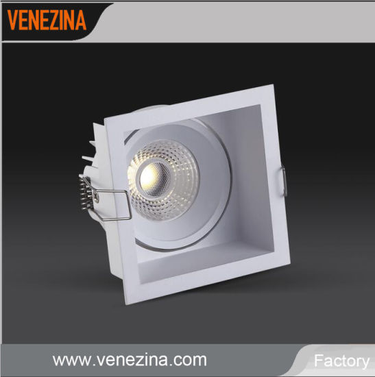 Diseño LED tipo cuadrado China Lighitng de COB Commcerial j3qc45LAR