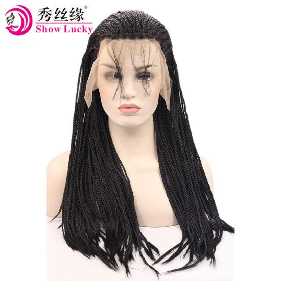 Parrucca da cinese con treccia