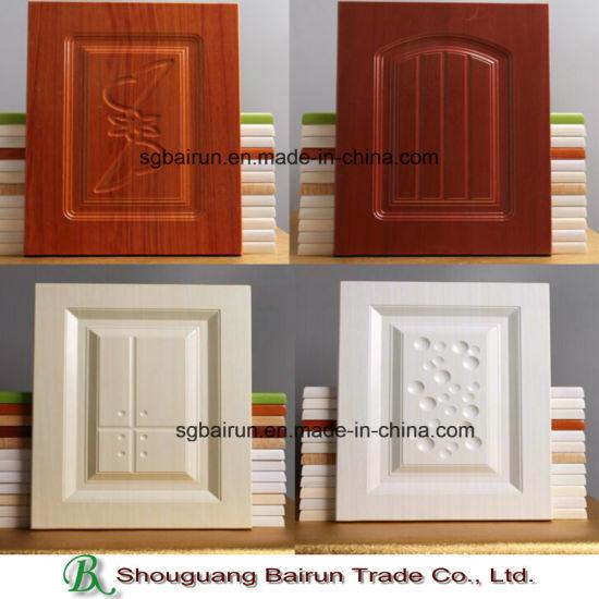 China Partes de muebles de cocina de MDF de película de PVC ...