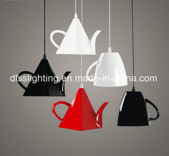 China contemporáneo de fibra La iluminación lujo tetera de lFK1Jc