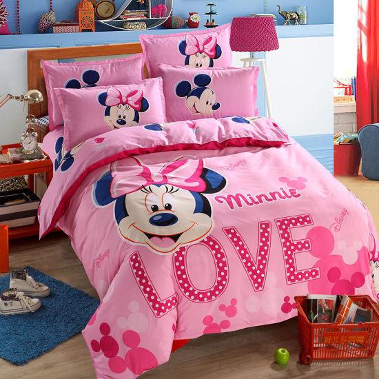 Drap de 100/x/135/cm en Coton Rose Hello Kitty Parure de lit