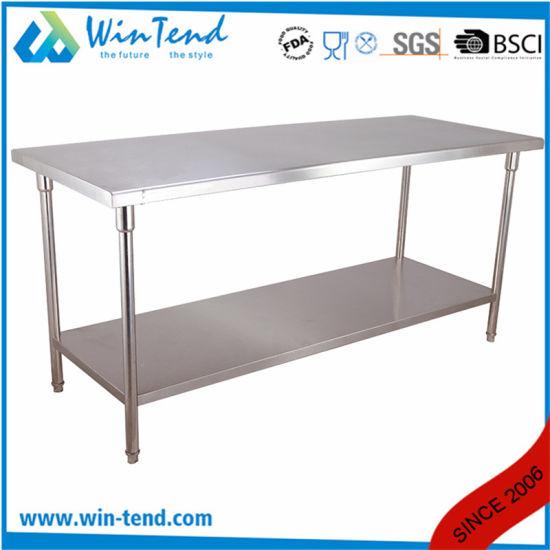 Chine Equipement De Cuisine Commercial Table De Travail De L Acier
