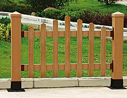 Beliebt China WPC Zaun, Garten-Zaun, hölzerne zusammengesetzte WA74