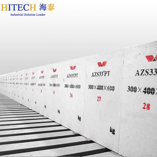 Häufig China Hohe Zirconia Azs Ziegelsteine u. Blöcke für schmelzenden TD17