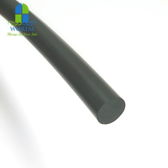 Cella frigorifera GUARNIZIONE PORTA PORTA GUARNIZIONE NERO AL METRO con STRISCIA DI FISSAGGIO IN PVC