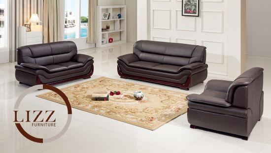Chine La Chine Lizz mobilier Salon moderne PU canapé en cuir ...