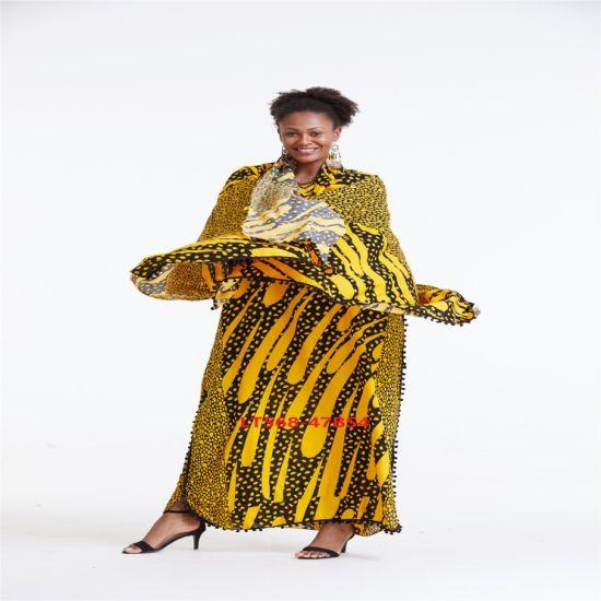La mode femme africaine belle robe de vêtements d'usure facile