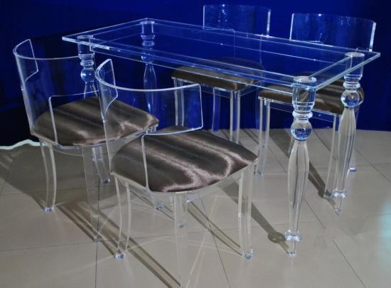 Tavolino Salotto Plexiglass.Tabella Del Lucite Scrittorio Acrilico Del Tavolino Da Salotto Del Plexiglass Mobilia Acrilica