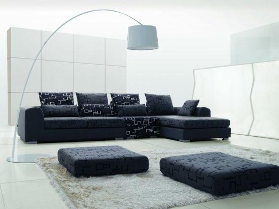 Hôtel Mobilier/combinaison canapé/hôtel mobilier de chambre à  coucher/salon/coin canapé moderne canapé/sellerie tissu appartement moderne  Sofa ...