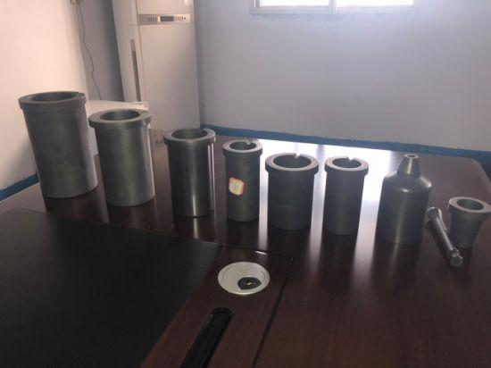 Fengyuanhong 2pcs Creuset en Graphite Stir Bar Fusion Coul/ée Raffinage Or Argent Cuivre B/âton Rod Baguette
