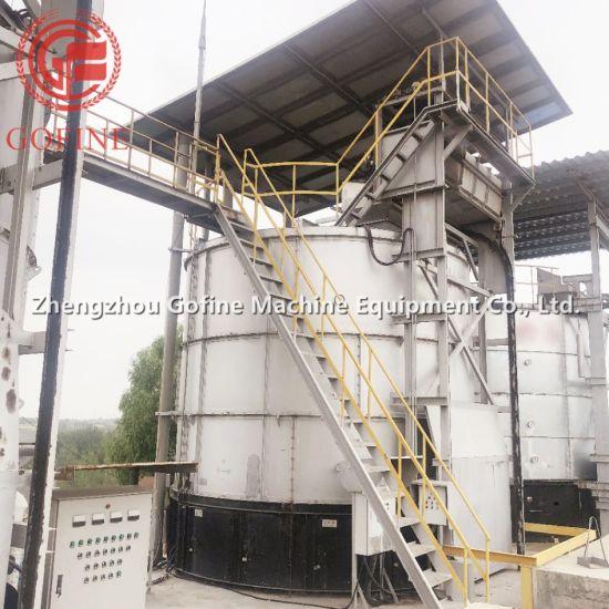 China Cavalo de fermentação de adubo orgânico de