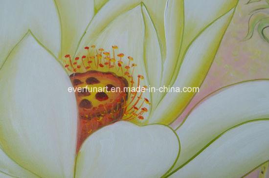 à La Main De L Huile De Fleur De La Peinture Moderne Bed Room Efx 18112909