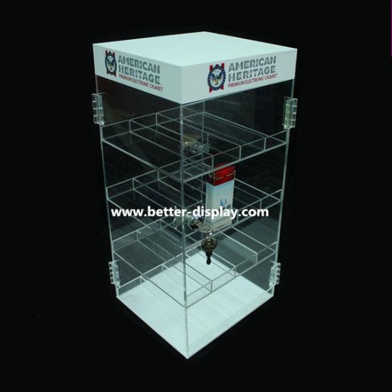 China Acrílico transparente de cristal orgánico cigarrillo