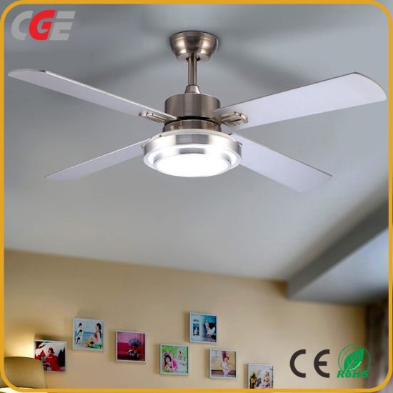 Ventilador de techo con iluminación Ventilador Luz LED