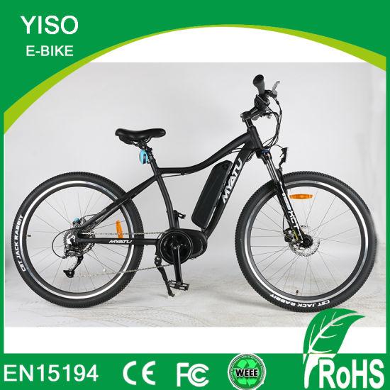 entraînement de poids de vélo de montagne