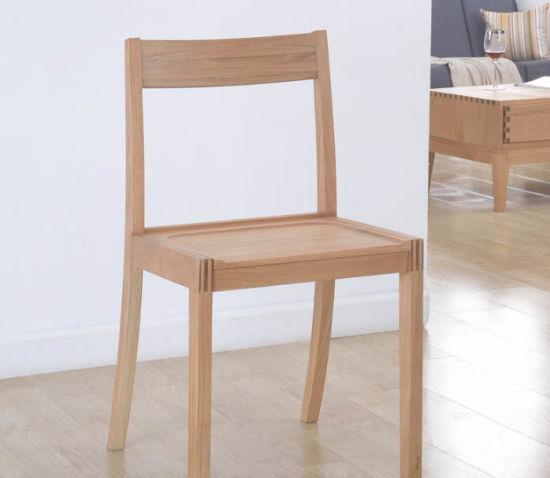 Madera maciza de roble sillas de comedor modernas sillas de comedor sillas  de ordenador (M-X2022)