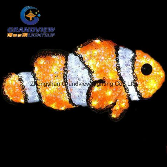 Decorazione Chiara Nemo Che Trova L Indicatore Luminoso Dei Pesci Di Disegno Led
