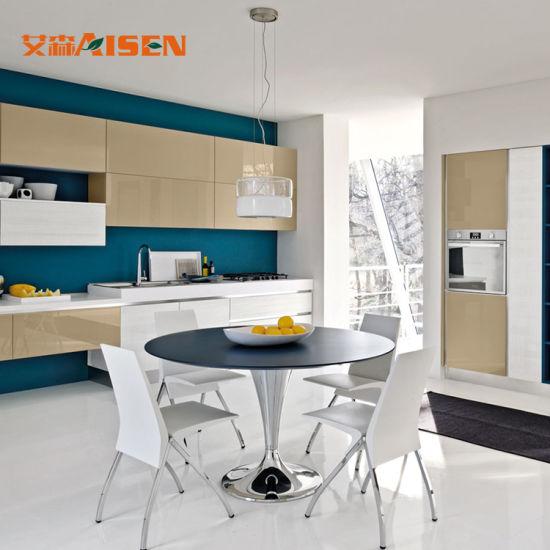 Governi commerciali della strumentazione della cucina case mobili di lusso  della mobilia delle nuove piccole