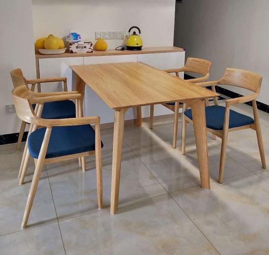 China 2019 juegos de comedor modernos de madera silla ...