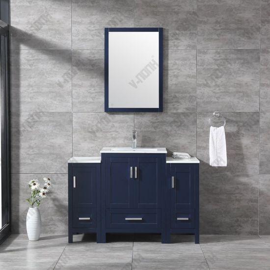 Chine Bleu marine permanent gratuit Salle de bains moderne ...