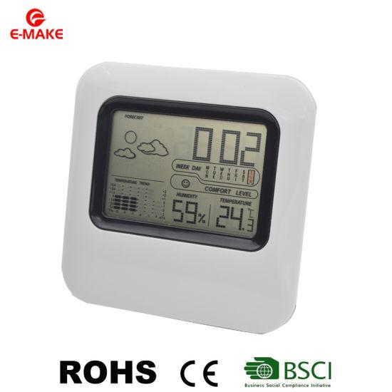Thermomètre numérique hygromètre Réveil Calendrier Température Station météo