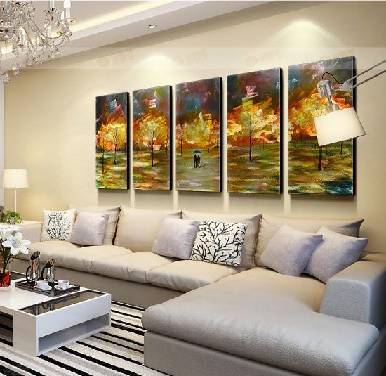 Home Living Métal Feuille Wall Art