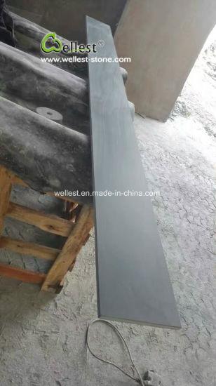 Chine Dark ardoise noire Bas de caisse de fenêtre en pierre ...