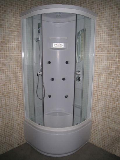 China Diseño de la esquina interior ducha correderas ...