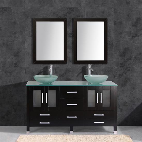 Chine Lavabo double Salle de bains Vanity/Salle de bains ...