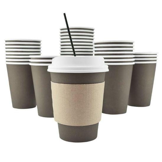 Китай Настраиваемый логотип 12 унции одноразовые горячего кофе ...