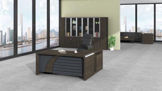 Escritorio ejecutivo melamina mesa de oficina mobiliario de oficina  modernos de la Oficina de Diseño más reciente 2019 Tabla de alta calidad
