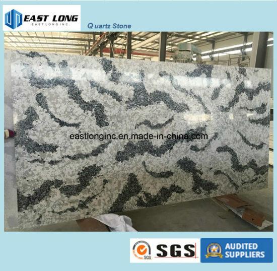 Cina Pietra artificiale del quarzo di colore di marmo per il ...