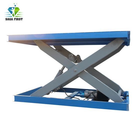Chine Heavy Duty Plate Forme De Levage Hydraulique De La Table