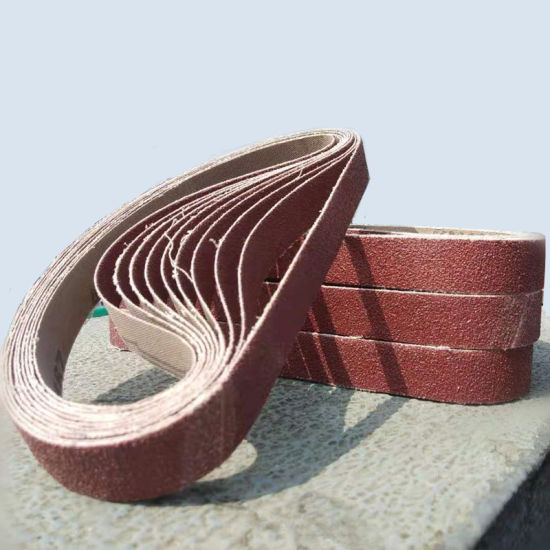 10 x 330 mm bandas de lija de circonio