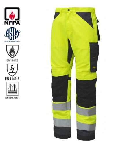 marcas reconocidas 100% autenticado mejor calidad Pantalones de alta visibilidad Ropa de trabajo reflectantes pantalones de  trabajo de clase 2