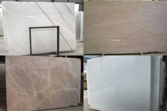 Chine Blanc/gris/beige/noir/brun les plaques de marbre ...