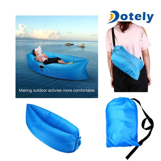 Sac gonflable paresseux de l'Air Transat Canapé sac de couchage de Camping Plage
