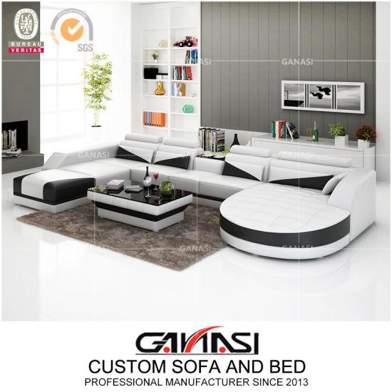 Cina sof moderno del cuoio della mobilia del salone di for Mobilia italia