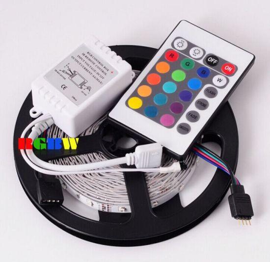 الصين 5m Rgb 3528 60 Leds 24 Keys 12v Led Strip Light Kit