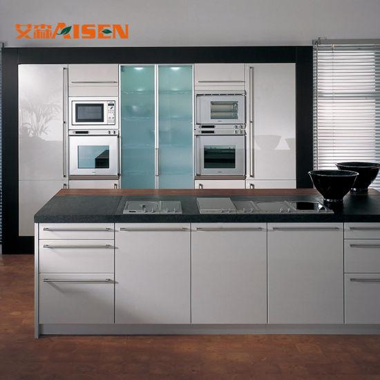 Diseño CAD Diseño 3D Inicio Ahorro de espacio comercial moderno Muebles  Armarios de cocina