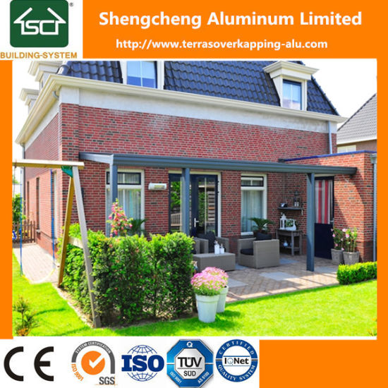 Chine Outdoor Pergola avec Verre profilé en aluminium et de ...