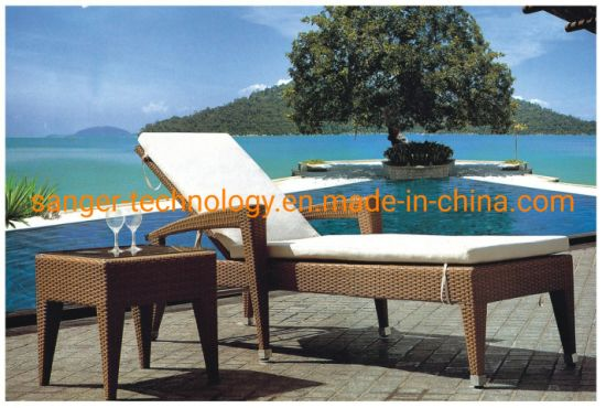China Muebles De Terraza Tumbonas Playa Casa Jardín