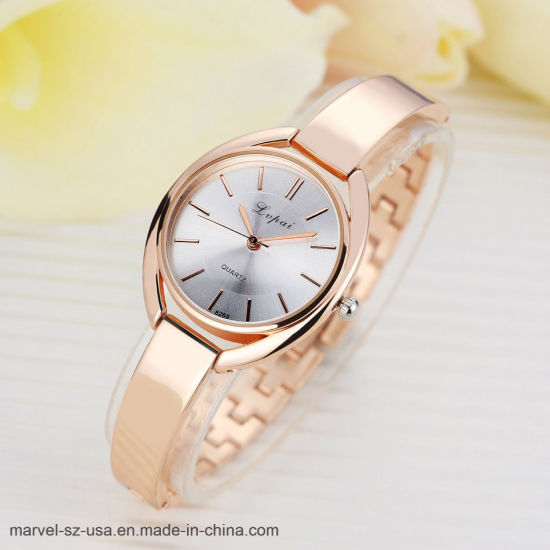 Las mujeres de la moda de lujo reloj de pulsera reloj deportivo de cuarzo Relojes de Pulsera de mujer