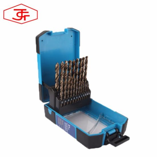 Coffret de 25 mèches au cobalt  forets en acier ultra-dur