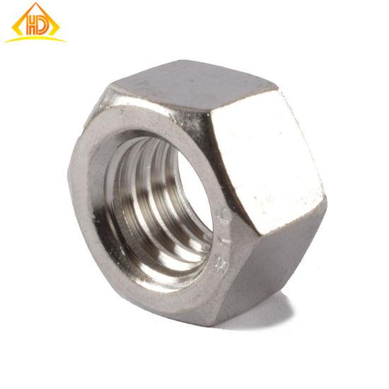 Acero inoxidable, M4 12 piezas tuercas hexagonales de acero inoxidable A4 DIN 934