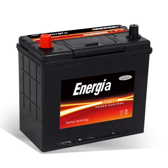 Bas prix de vente chaude de 12 V rechargeable sans entretien batterie de voiture 12V 45Ah