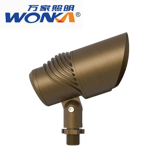 foco 12V alimentación de latón LEDluces ajustable de China Nwv80mn